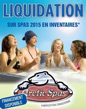 Liquidation Arctic Spas 27 fev au 2-5 mars 2016-nouveau