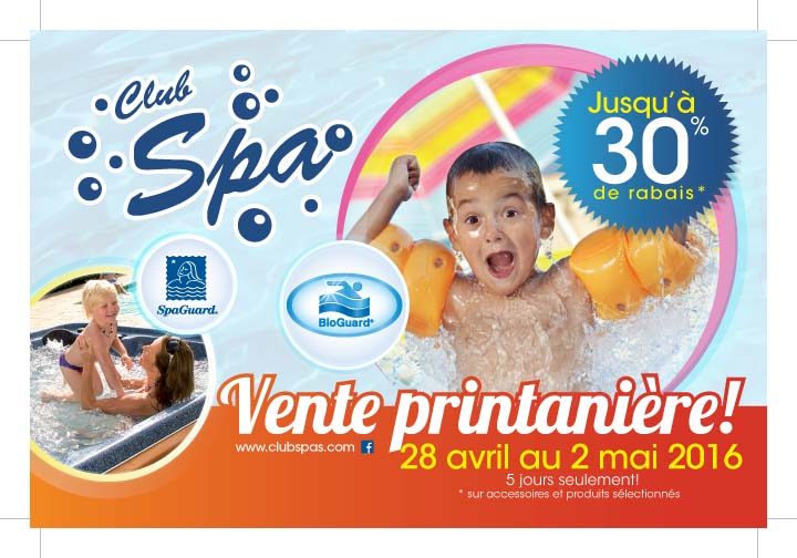 Promotions club spa for Club piscine brossard quebec