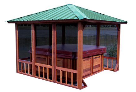 Gazebo Hideaway Retreat