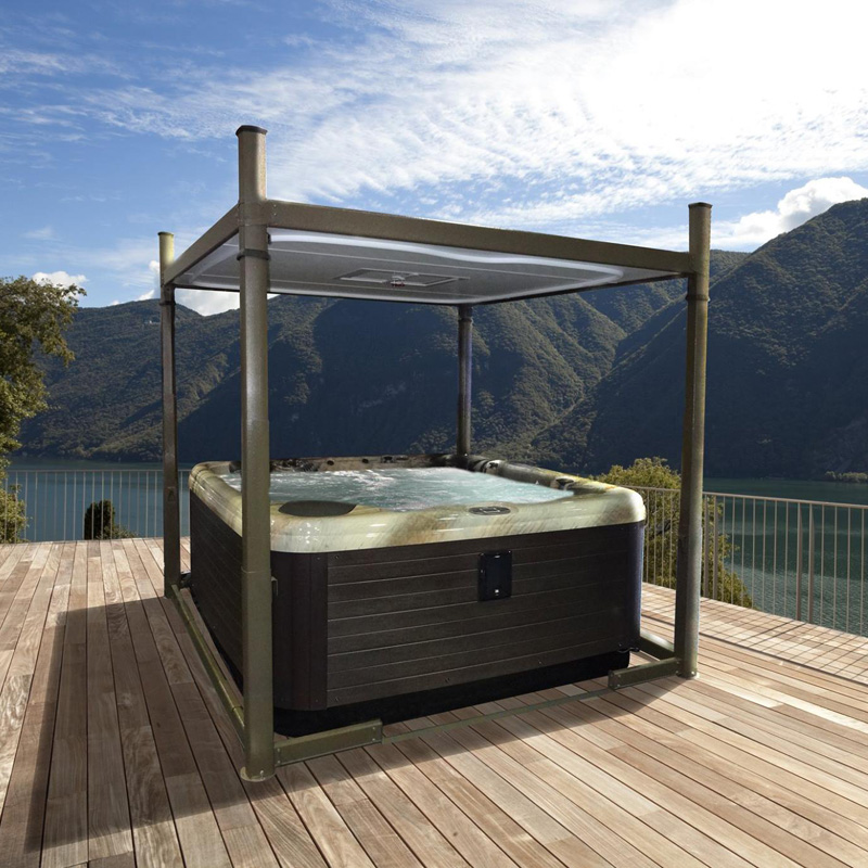 Covana evolution club spa for Spa exterieur couvert